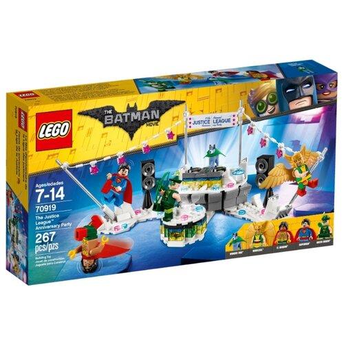 Купить Конструктор LEGO The Batman Movie 70919 Вечеринка Лиги Справедливости, Конструкторы