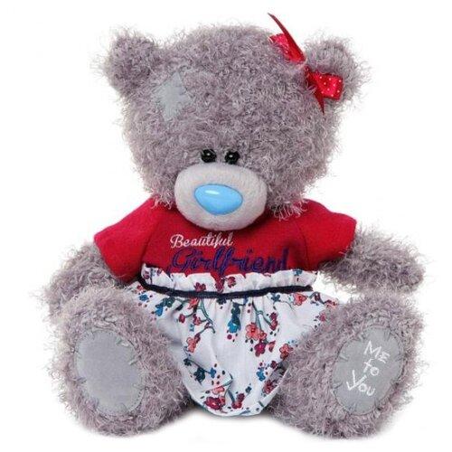 Мягкая игрушка Me to you Мишка Тедди подружка 20 см
