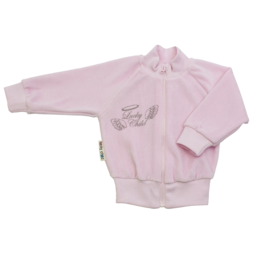 Олимпийка lucky child размер 22, розовыйДжемперы и толстовки<br>