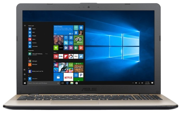 ASUS Ноутбук ASUS VivoBook 15 X542UQ (Intel Core i3 7100U 2400 MHz/15.6