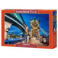 Пазлы Пазл Тауэрский мост Castorland 2000 элементов