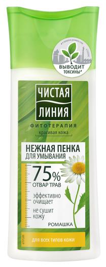 Чистая линия пенка для умывания для любой кожи, 100 мл - Характеристики - Яндекс.Маркет