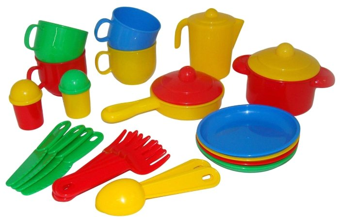 """Набор посуды Полесье """"Хозяюшка"""" на 4 персоны 4008 фото 1"""
