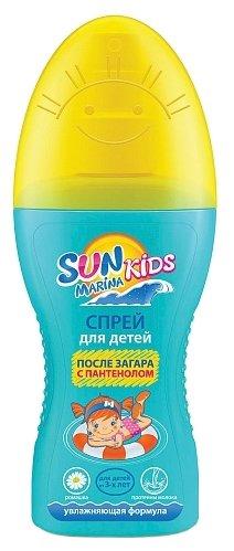 Биокон Sun Marina Kids спрей после загара для детей