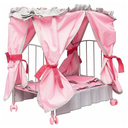 Купить Mary Poppins Кровать для кукол с балдахином Корона (67215) Корона, Мебель для кукол
