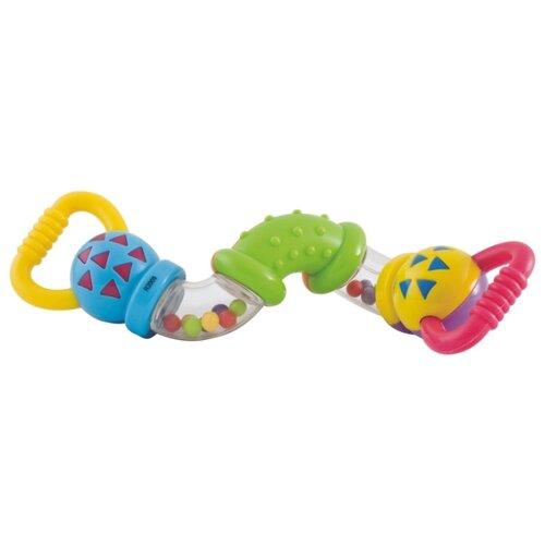Купить Погремушка Canpol Babies Верткий уж 2/455 зеленый/желтый/синий, Погремушки и прорезыватели