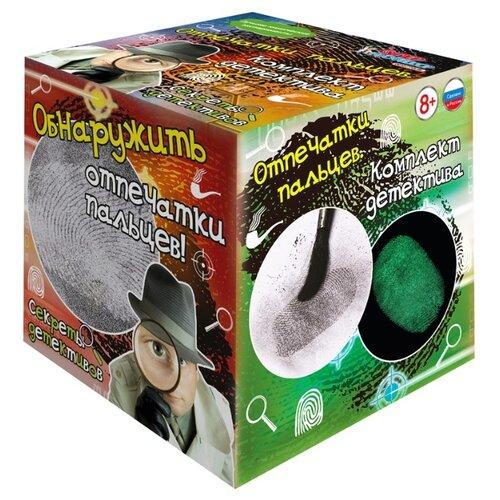 Купить Игровой набор Qiddycome Секреты детективов Отпечатки пальцев, Полицейские и шпионы