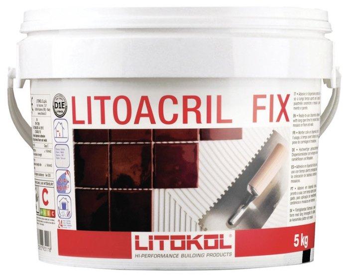 Клей Litokol Litoacril Fix 5 кг