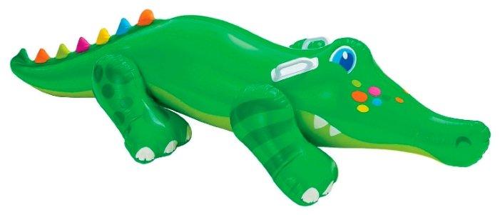Надувная игрушка-наездник Intex Крокодил 56520
