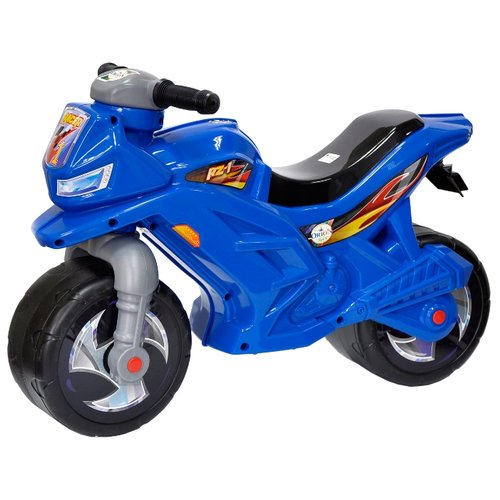 Каталка-толокар Orion Toys Мотоцикл 2-х колесный (501) синий каталка толокар orion toys мотоцикл 2 х колесный 501 зеленый