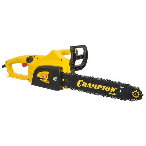 Цепная электрическая пила CHAMPION 118-14 пила цепная электрическая champion 118 14