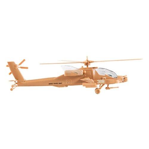 Фото - Сборная модель ZVEZDA Американский вертолет Апач АН-64 (7408) 1:144 модель ударный вертолет ан 64а апач 1 72 тм моделист