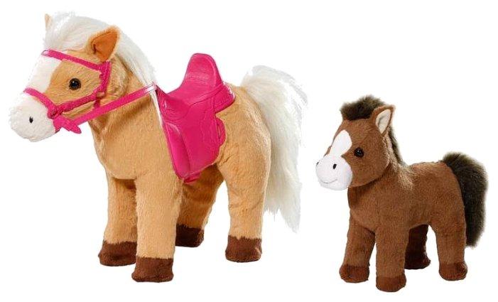 Zapf Creation лошадка с жеребенком (822-371)