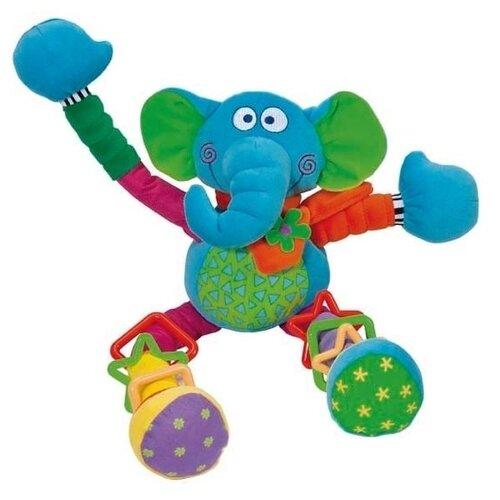 Купить Подвесная игрушка Bebe confort Веселый слоник (34000121) голубой, Подвески