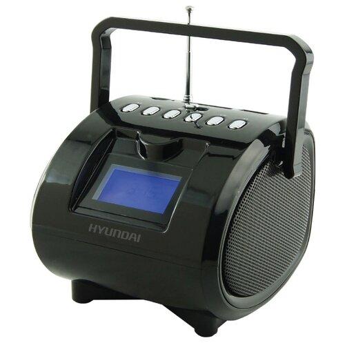 Магнитола Hyundai H-PAS180/H-PAS200 черный