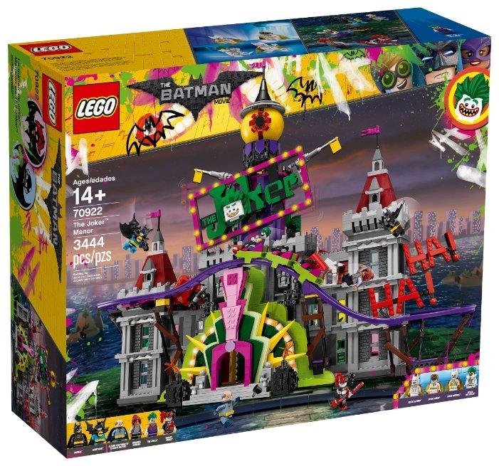Конструктор LEGO The Batman Movie 70922 Поместье Джокера