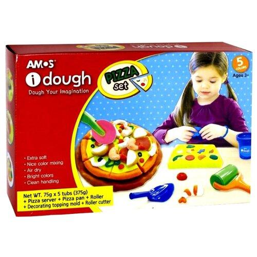 Масса для лепки AMOS Пиццерия (32800)Пластилин и масса для лепки<br>