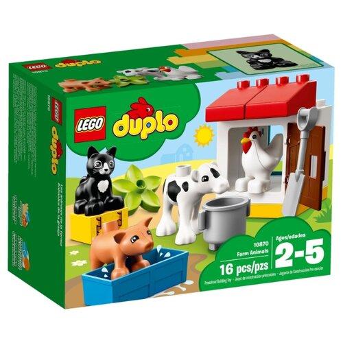 Конструктор LEGO DUPLO 10870 День на ферме