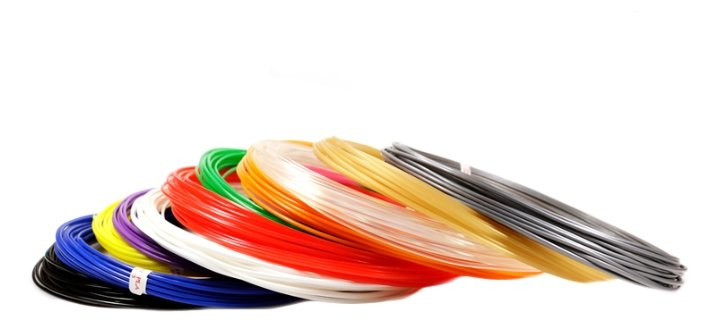 Набор пластика для 3D ручек Unid