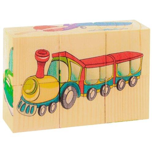Кубики-пазлы АНДАНТЕ Транспорт Д488а кубики пазлы томик транспорт