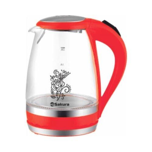 Чайник Sakura SA-2712R, красный чайник sakura sa 2712r