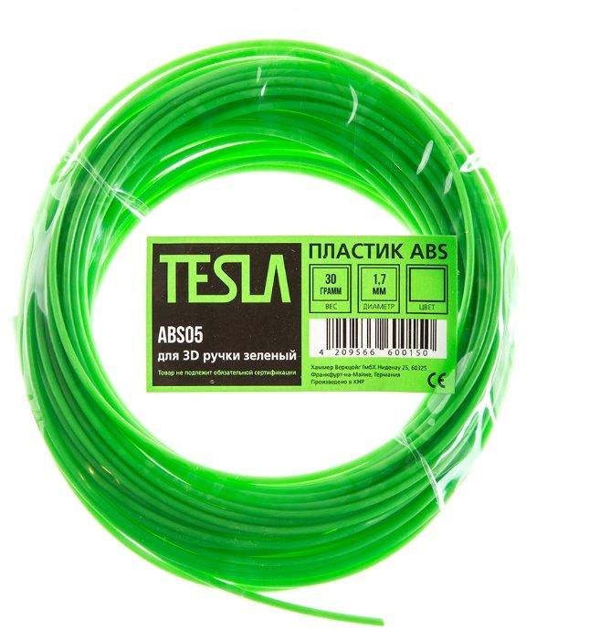 ABS пруток TESLA 1.70 мм зеленый
