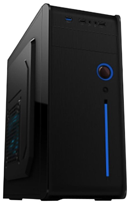 Vinga Компьютерный корпус Vinga CS105B 500W Black
