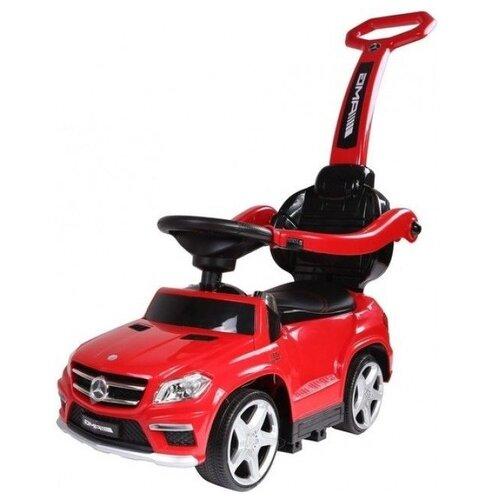Купить Каталка-толокар RiverToys Mercedes-Benz A888AA-H со звуковыми эффектами красный, Каталки и качалки