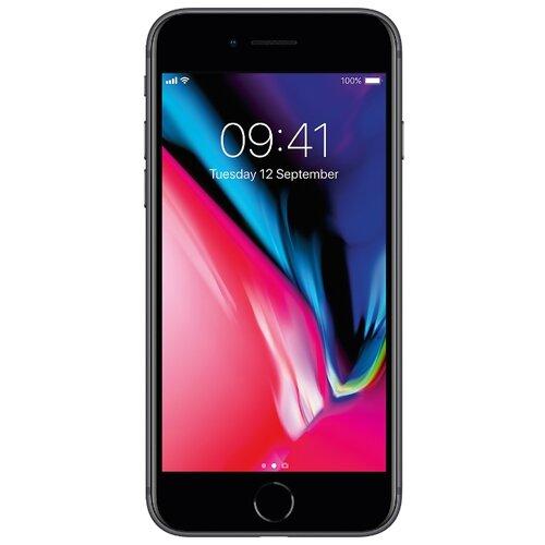 Смартфон Apple iPhone 8 64GB серый космос (MQ6G2RU/A)Мобильные телефоны<br>