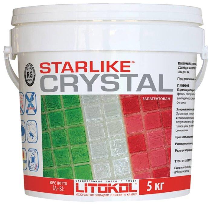 Затирка Litokol Starlike C.350 Crystal 5 кг
