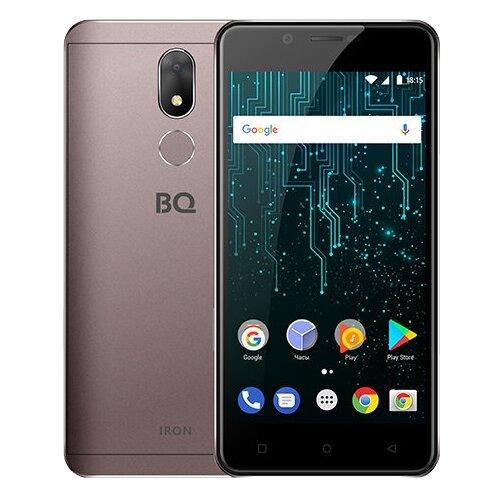 Смартфон BQ 5007L Iron кофейный смартфон