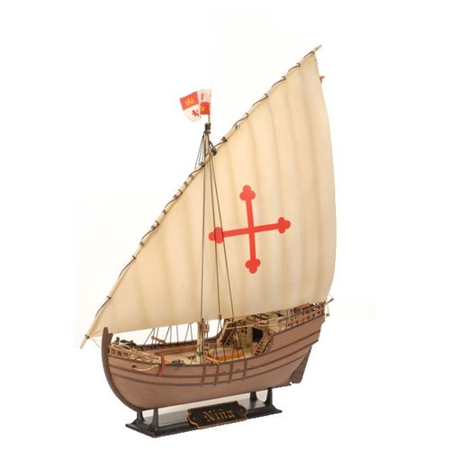 Сборная модель ZVEZDA Корабль экспедиции Христофора Колумба Нинья (9005) 1:100 сборная модель zvezda браво 2065 1 100