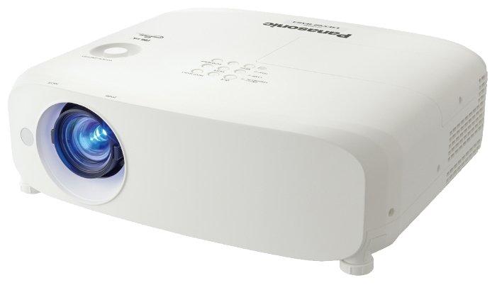Panasonic PT-VW540E Мультимедийный LCD проектор, 5300 люмен, 1280x800, 16:10, 10000:1, 5000 ч, пр.отн. 1.1, зум 1.8, 4.8 кг., 37 дБ, Моно 10 Вт., верт.25 гр, гор.30 гр, HDMI, VGA, RCA, MiniJack, RCAx2, USB-B, RS232, Белый