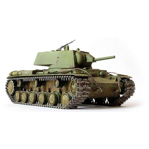 Купить Сборная модель ZVEZDA Советский тяжелый танк образца 1940 г. с пушкой Л-11 КВ-1 (3624) 1:35, Сборные модели