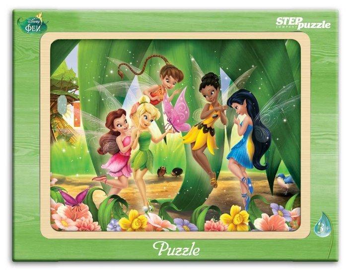 Рамка-вкладыш Step puzzle Disney Феи (89125), 20 дет.