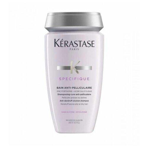 Kerastase шампунь Specifique Bain Anti-Pelliculaire, 250 мл kerastase шампунь specifique bain riche dermo calm дермокалм риш для сухих волос 250 мл
