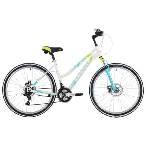 Горный (MTB) велосипед Stinger Latina D 26 (2018) белый 15 (требует финальной сборки)Велосипеды<br>