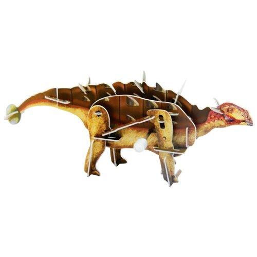 Купить 3D-пазл Pilotage 3D Динозавр Анкилозавр заводной (RC39687), Пазлы