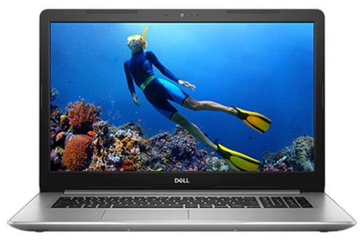 "Ноутбук DELL INSPIRON 5770 (Intel Core i7 8550U 1800 MHz/17.3""/1920x1080/8Gb/1000Gb HDD/DVD-RW/AMD Radeon 530/Wi-Fi/Bluetooth/Linux)"