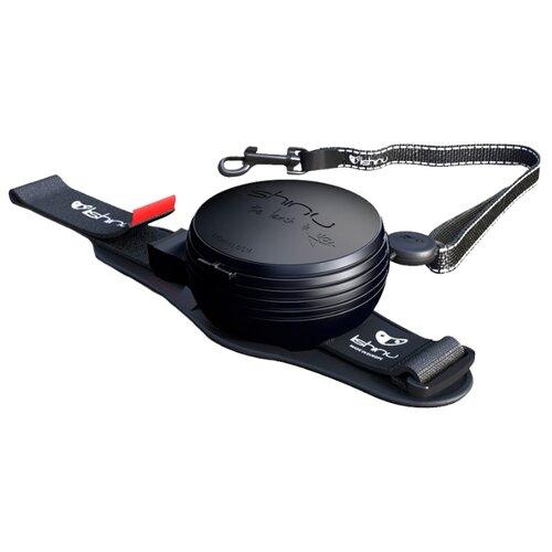 Поводок-рулетка для собак Lishinu Original 2 (M) черный 3 м рулетка freego мобил с лентой для собак m черный
