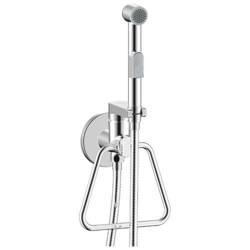 Гигиенический душ встраиваемый Rossinka Silvermix X25-55 хром смеситель для биде rossinka silvermix x25 54