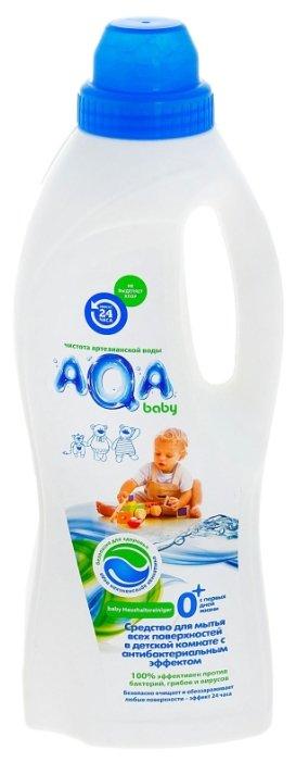 Aqa Baby (Аква Бейби) Aqa Baby Средство для мытья всех поверхностей в детской комнате с антибакт. эффектом, 700 мл