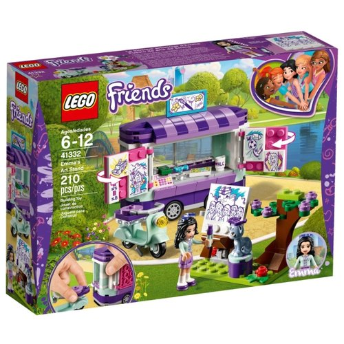 Конструктор LEGO Friends 41332 Выставка ЭммыКонструкторы<br>