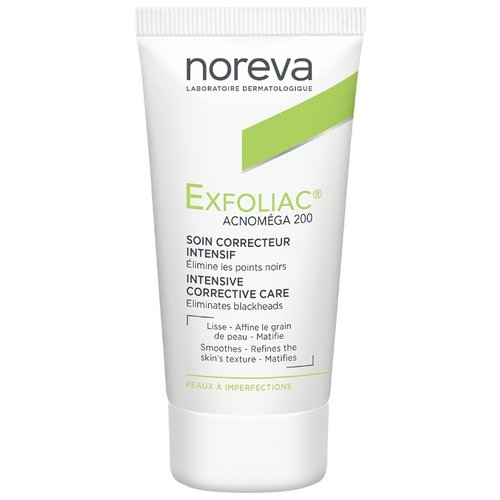 Noreva laboratories Exfoliac Крем Acnomega 200, 30 мл noreva laboratories bb крем для проблемной кожи exfoliac 30 мл оттенок light