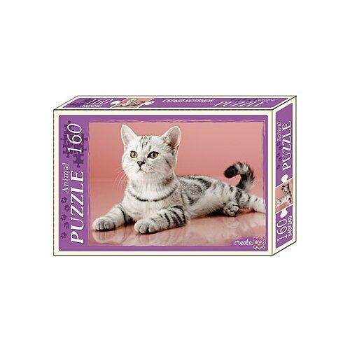 Купить Пазл Рыжий кот Animal Серый котенок (П160-1088), 160 дет., Пазлы