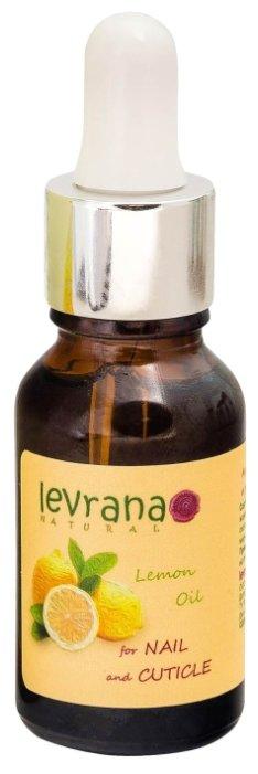 Масло Levrana для кутикулы Лимон