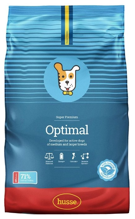 Корм для собак Husse Optimal