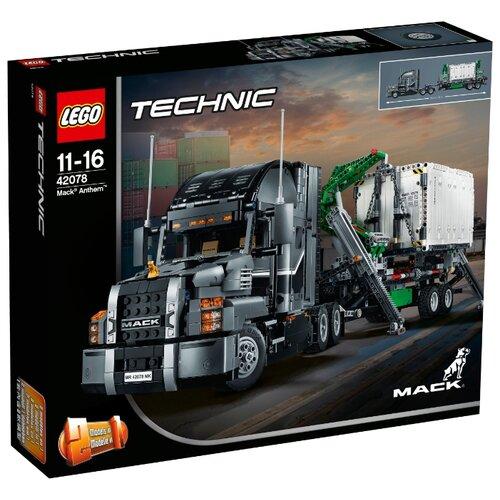 Купить Конструктор LEGO Technic 42078 Грузовик MACK, Конструкторы