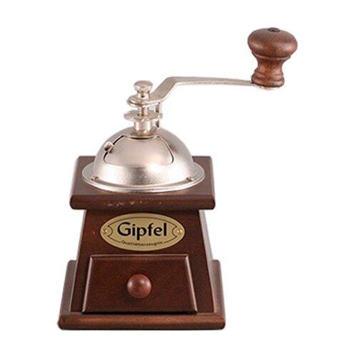 Фото - Кофемолка GIPFEL 9227, коричневый кофемолка