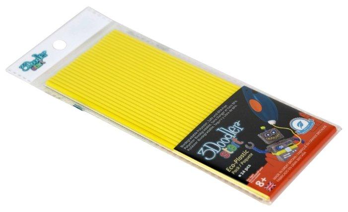 Эко-пластик пруток 3Doodler Start 3 мм желтый